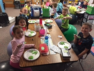 Green Eggs and Ham Day in Kindergarten