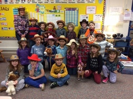 First Graders are Rootin', Tootin' Cowboys!