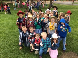 Cowboy and Cowgirl Day at VB for second graders!