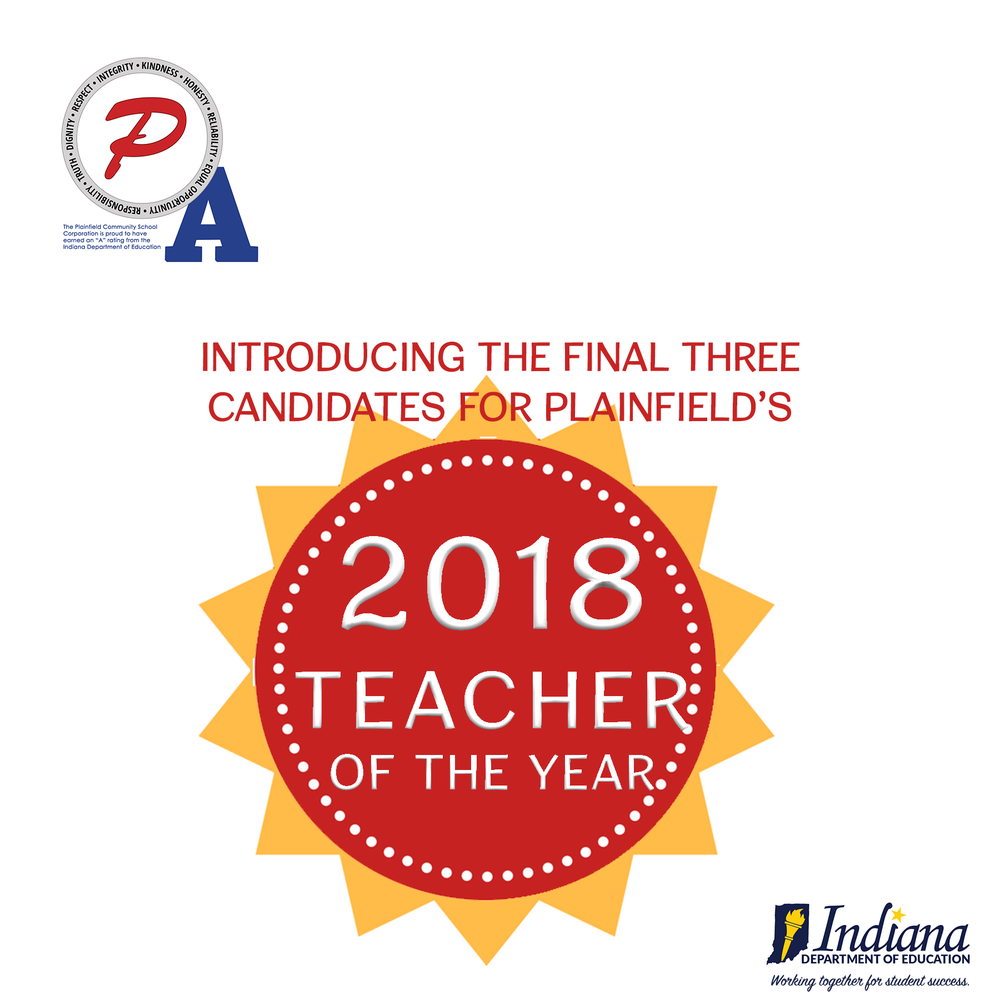 Finalists named for Plainfield's Teacher of the Year