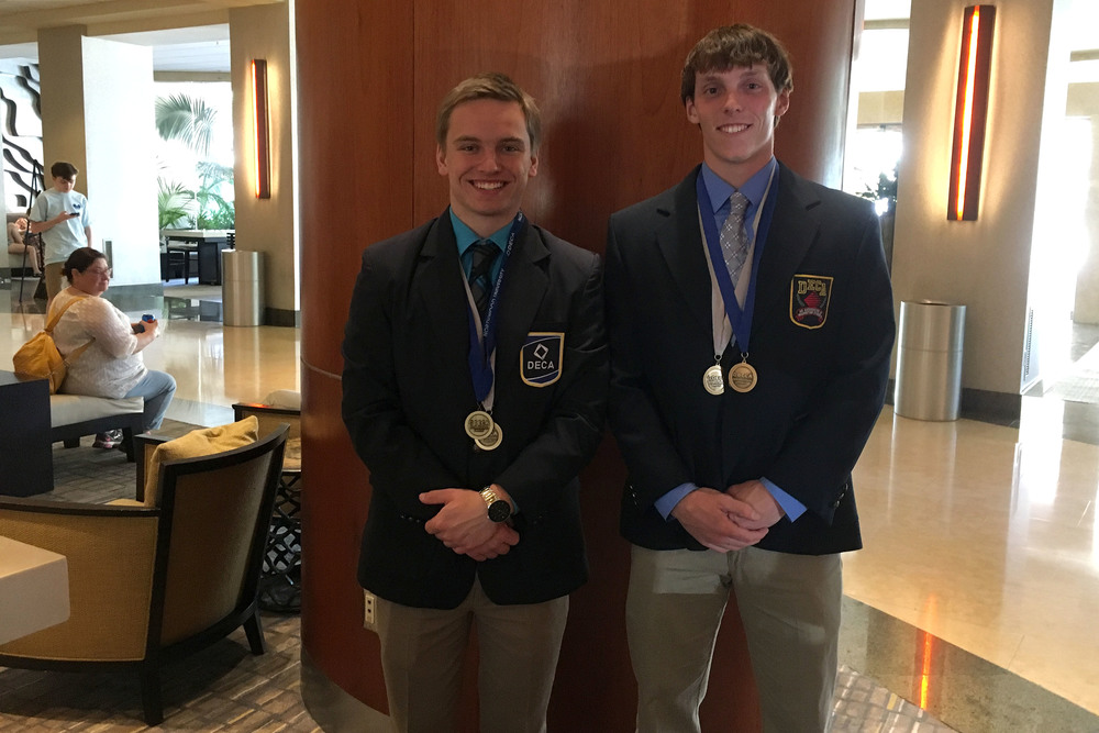 Students fare well at DECA competition