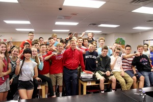 DeHoff named Plainfield 2018 Teacher of the Year