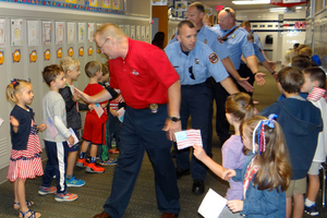 "On Patriot Day, we ""High Five for Heroes"""