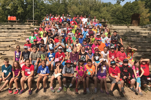 Van Buren 5th Graders Go Camping at Flat Rock