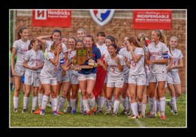 PHS Girls' Soccer Team: Focused on Regionals