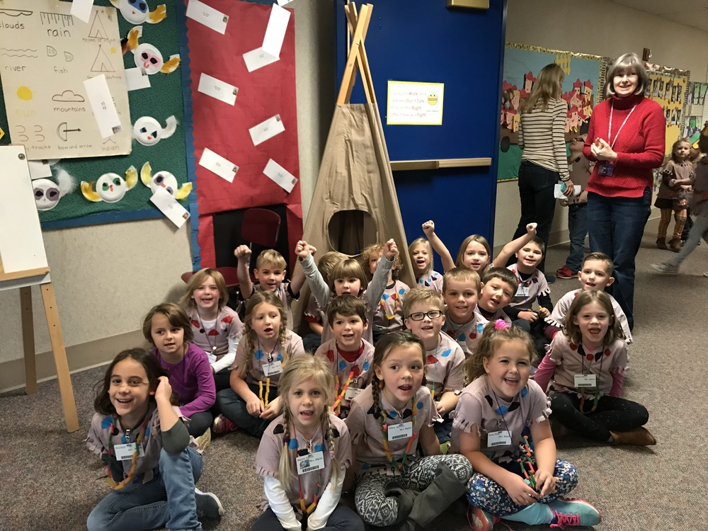Native American Day for Kindergartens