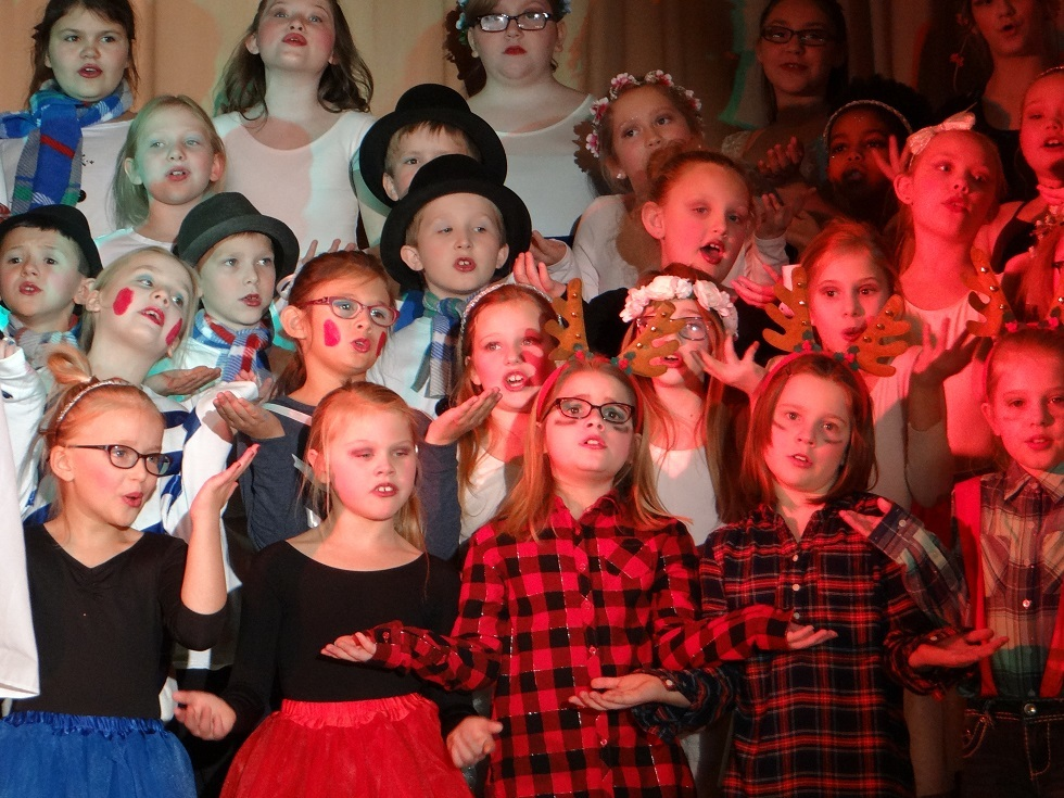 Third Grade Holiday Program