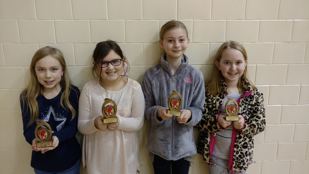 Battle of the Books Winners at VB