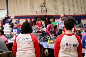 A Day in the Life: An Elementary Robotics Competition
