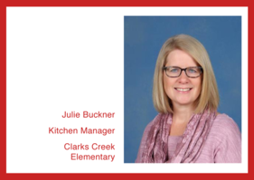 Get To Know Us: Julie Buckner, Clarks Creek Elementary!