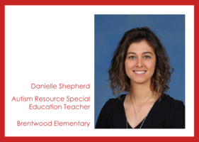 Get to know us: Danielle Shepherd!