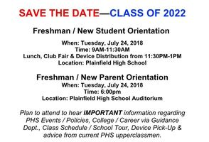 New Student and Freshmen Orientation