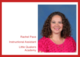 Get to know us: Rachel Pace!