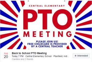 FIRST PTO MEETING