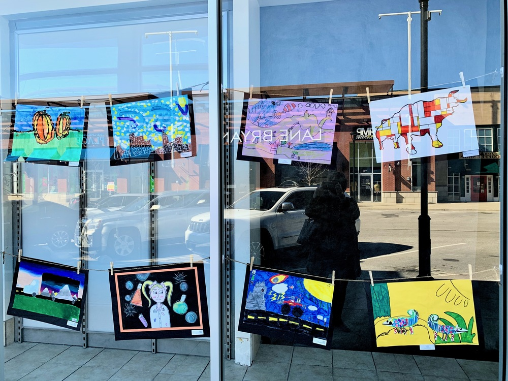 Student Art on Display at The Shops at Perry Crossing