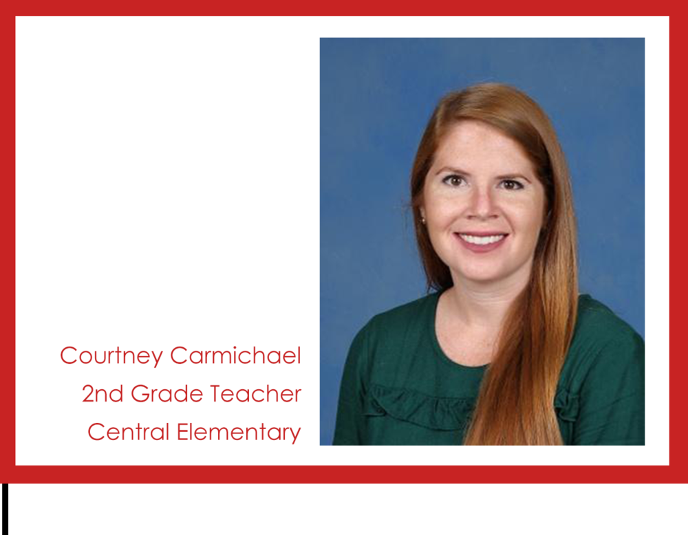 Get to know us: Courtney Carmichael!