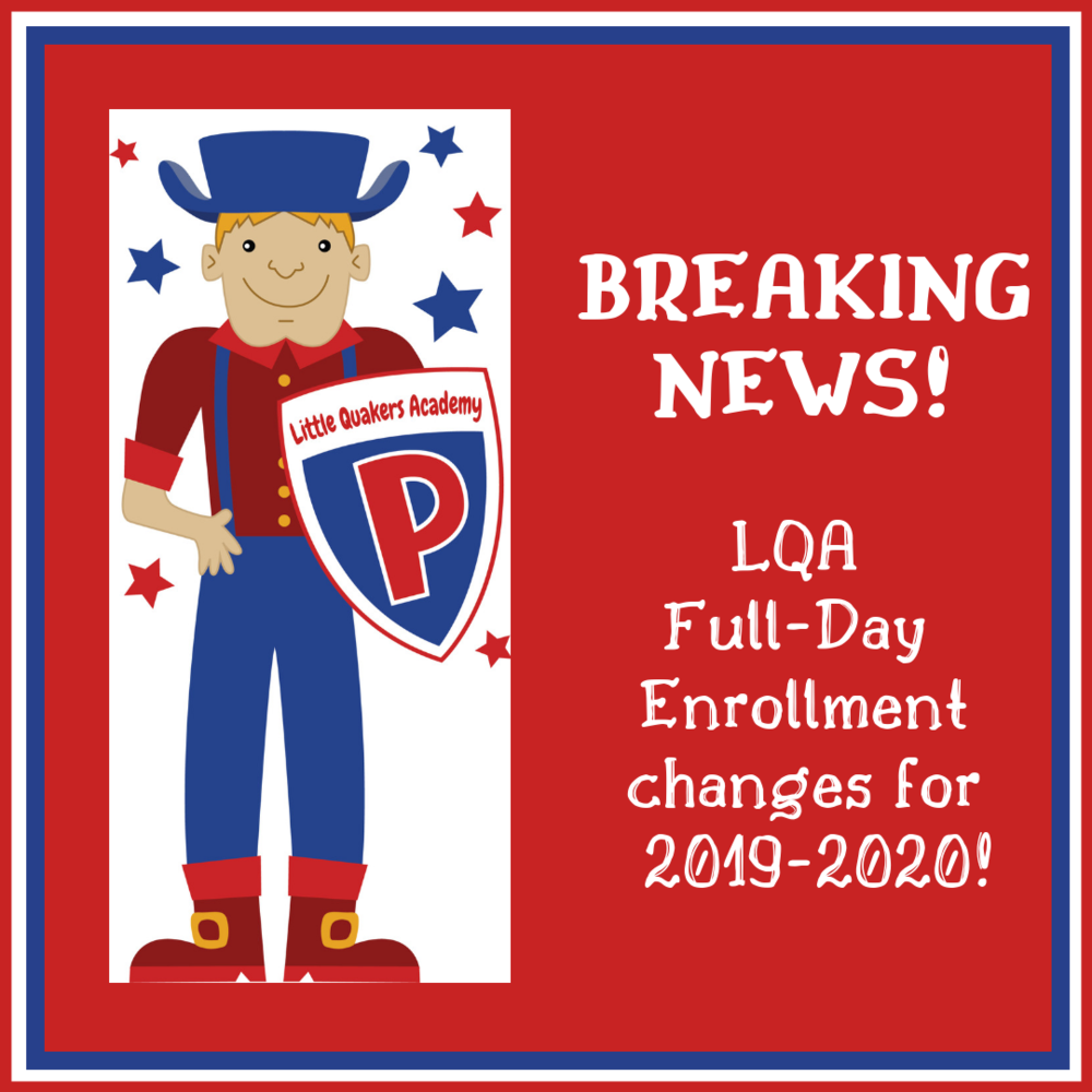 LQA Enrollment Changes!