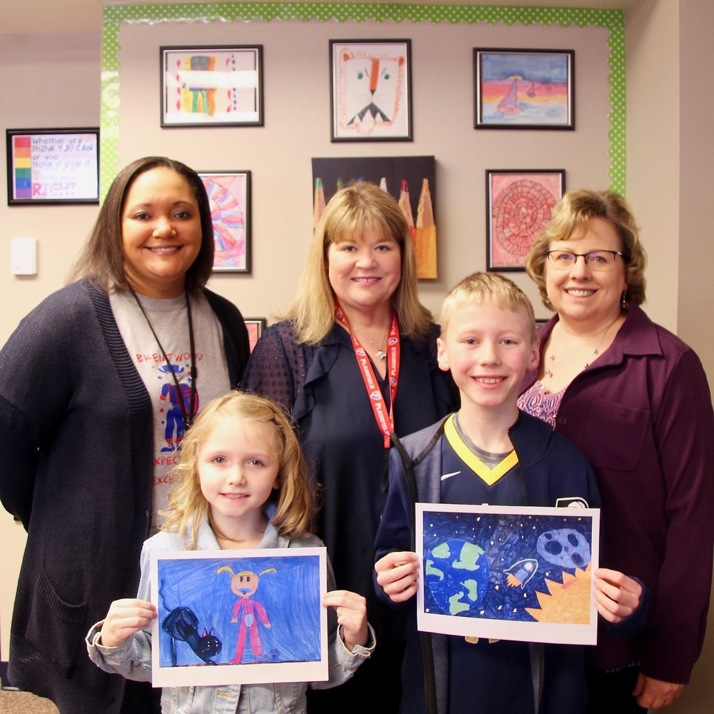 "Brentwood students honored for their ""Symphony in Color"" art contest entries"