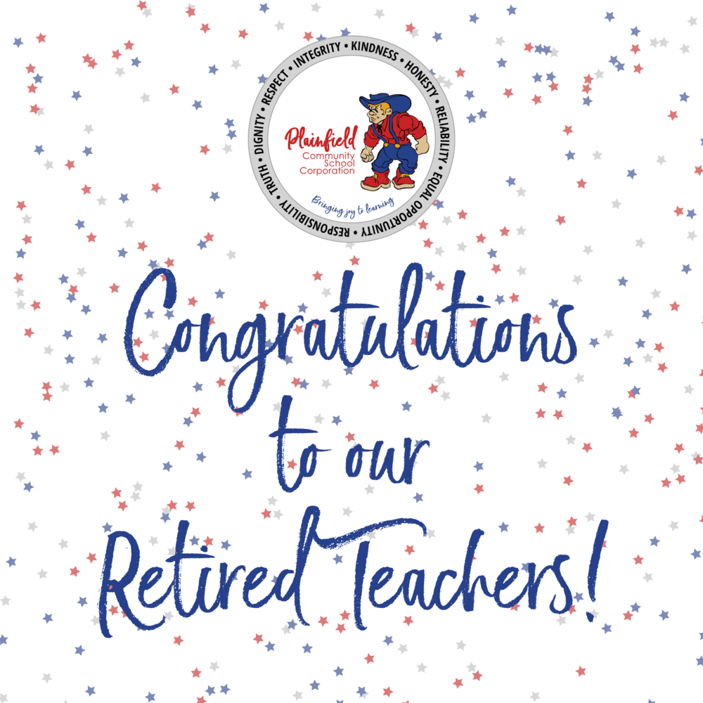 Congratulating our Retired Teachers!