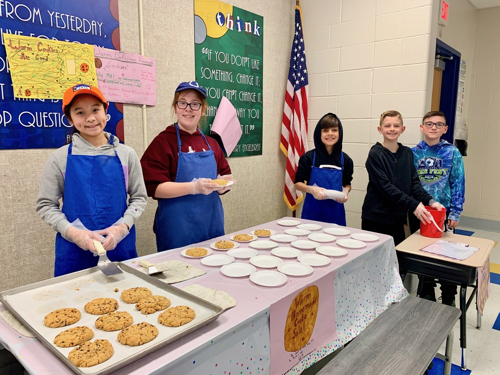 Clarks Creek 5th Graders turn entrepreneurs!