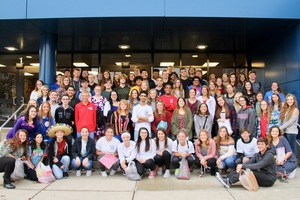 PHS 4th year Spanish students: Teacher-for-the-Day!