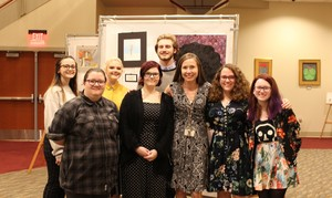 AP Art Student Exhibition held at PHS