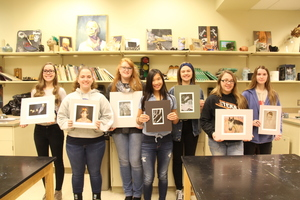 PHS Students Compete at The Scholastic Art and Writing Competition