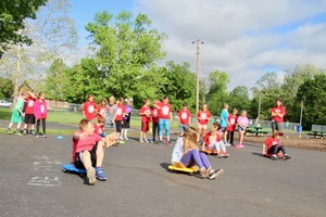 Central students enjoy Field Day
