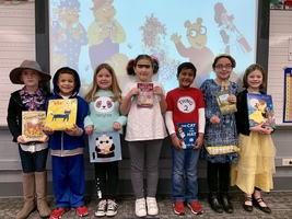1st Grade Storybook Character Day!!