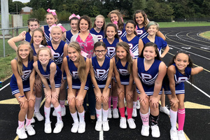 8th grade supports Making Strides against Breast Cancer