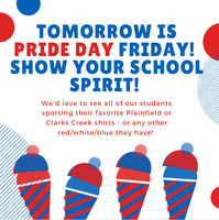 PRIDE Day Friday!