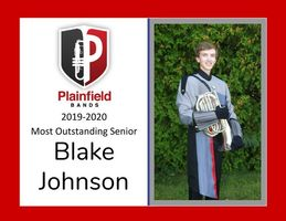 Meet Blake Johnson, the PHS 2019-2020 Red Pride Band's Most Outstanding Senior