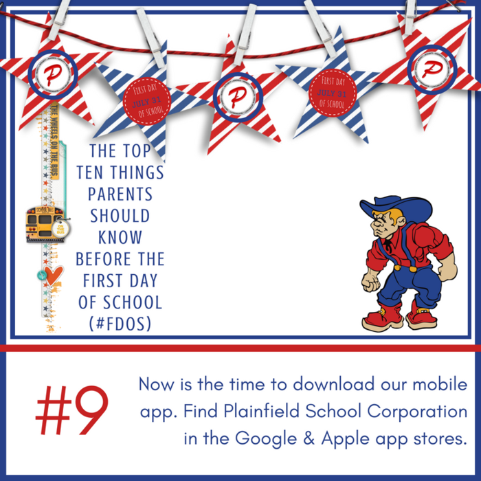 Now is the time to download our mobile app. Find Plainfield School Corporation in the Google & Apple app stores.