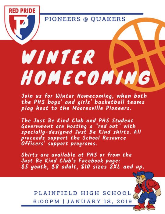 Winter Homecoming, January 18, 2019