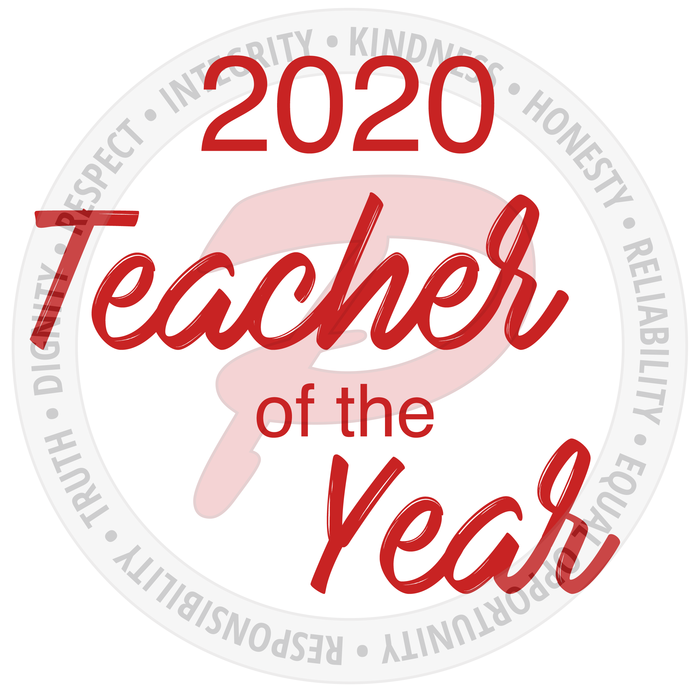 2020 Teacher of the Year nominations are now open!