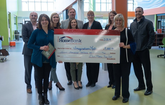 Home Bank generously donates to support future learning at The Lab.
