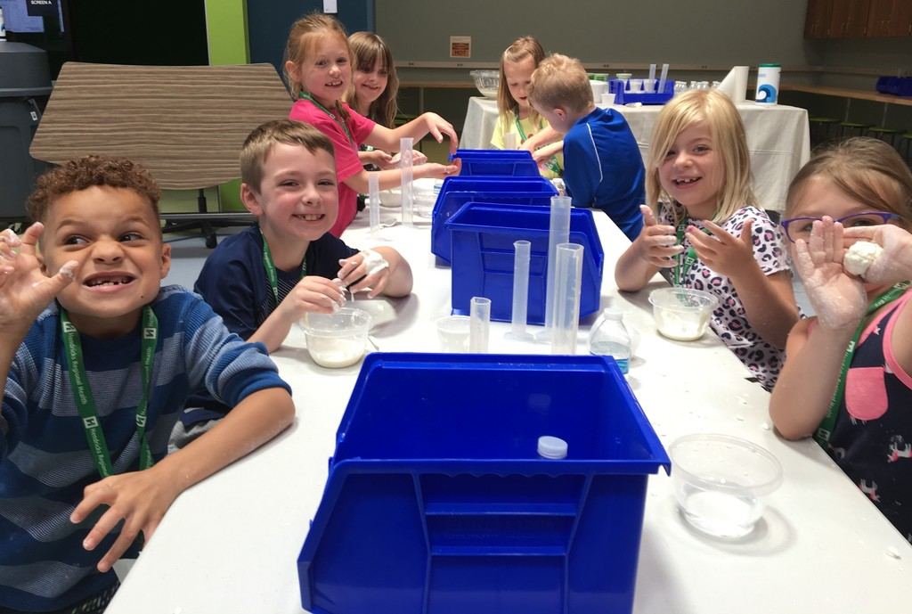 Chemistry camp is messy, but fun at The Imagination Lab!