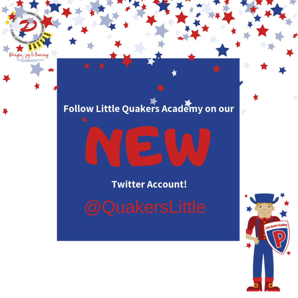 LQA has a NEW Twitter account: @QuakersLittle