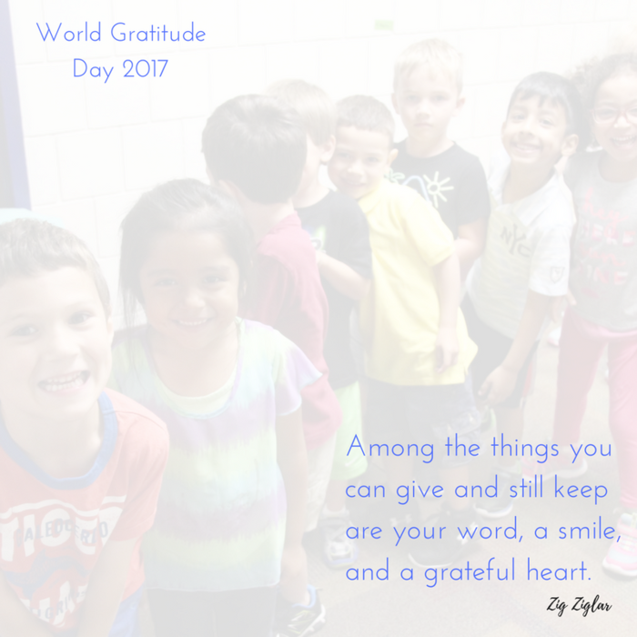 quote on photo of smiling children