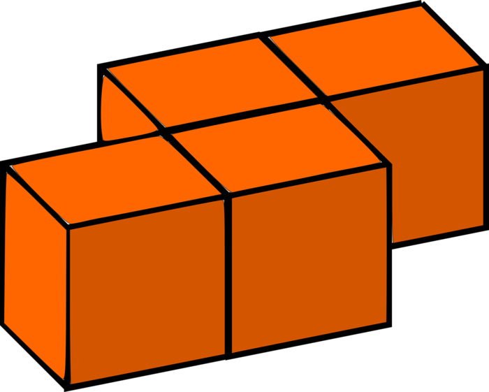 orange building blocks