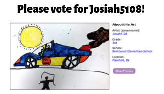 Please vote for Josiah5108!