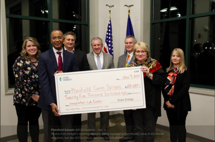 School board receiving Duke Energy Foundation Grant