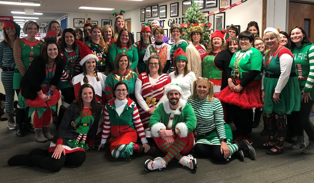 Elf Day at Central