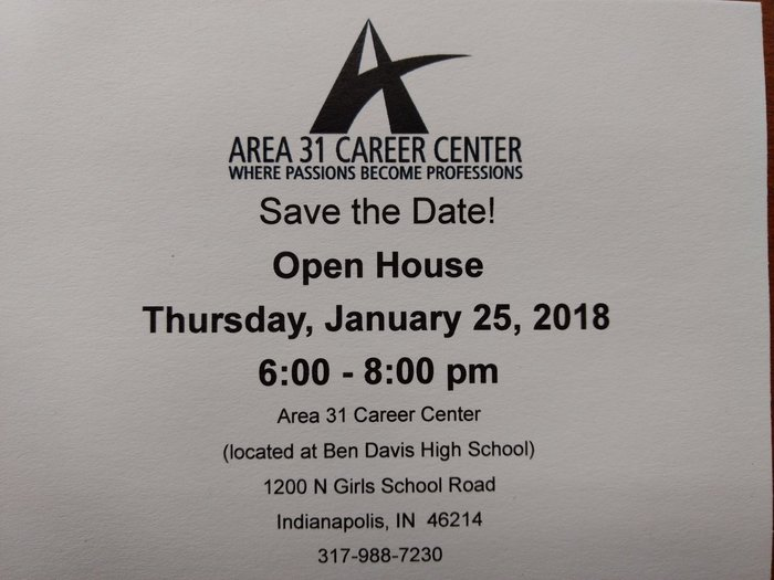Area 31 open house
