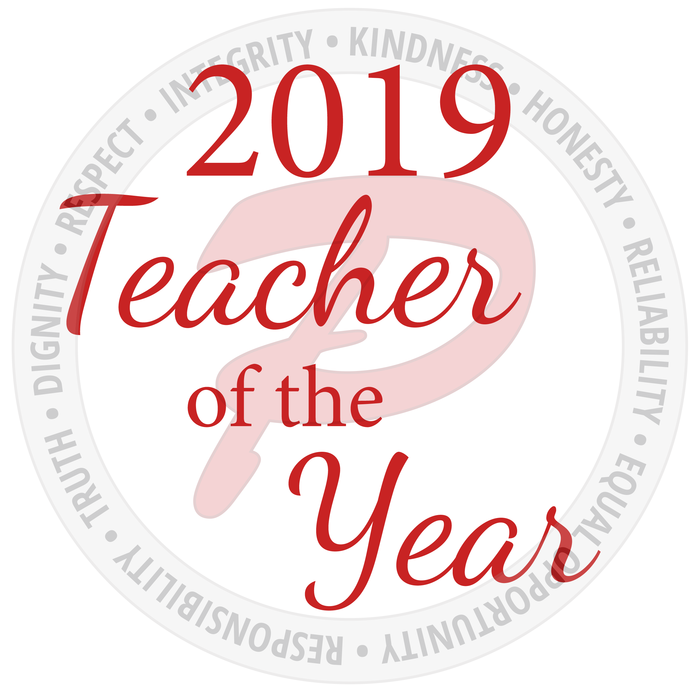 Nominations are being accepted for the 2019 Teacher of the Year