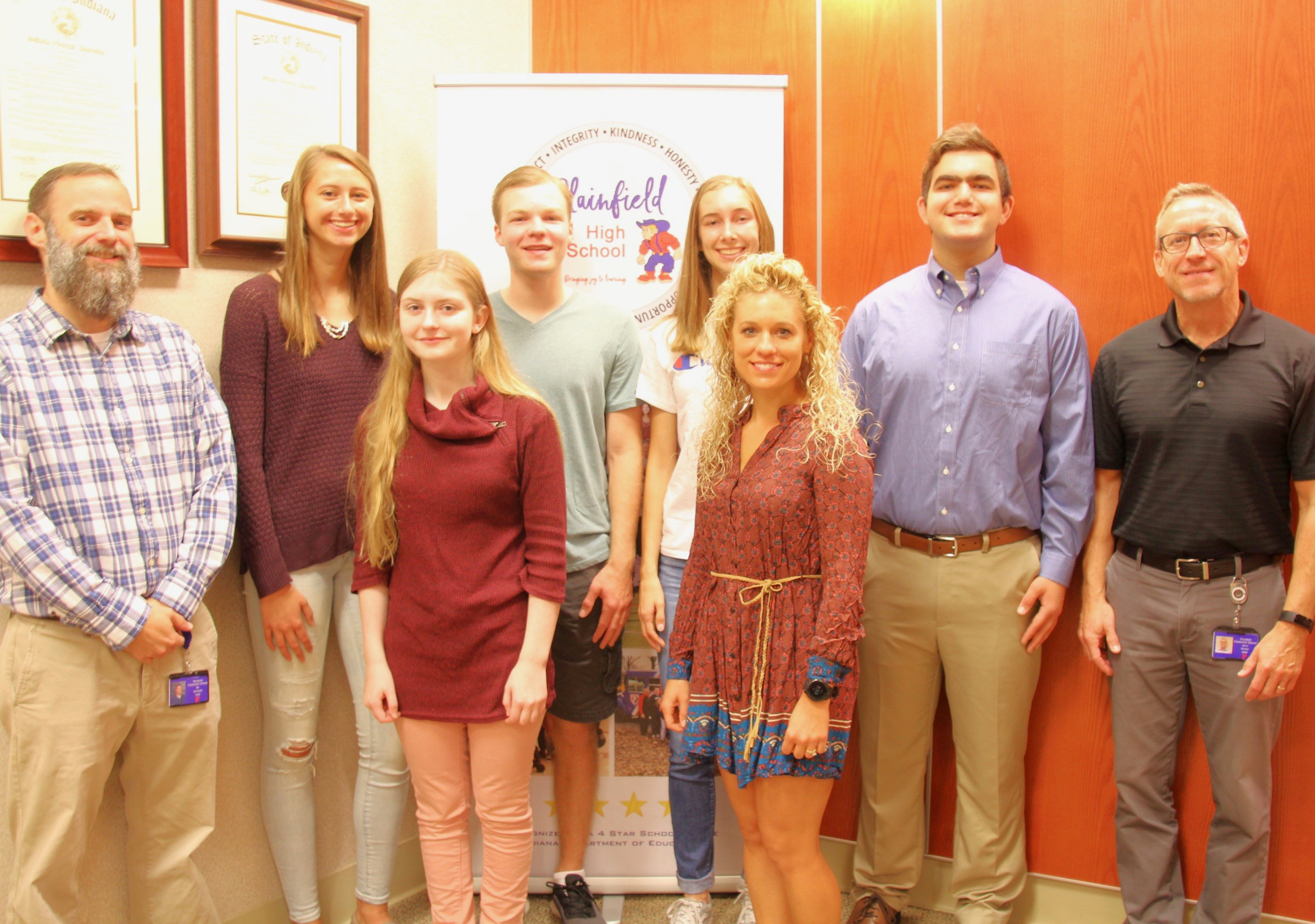 National Merit Commended Students honored at PHS