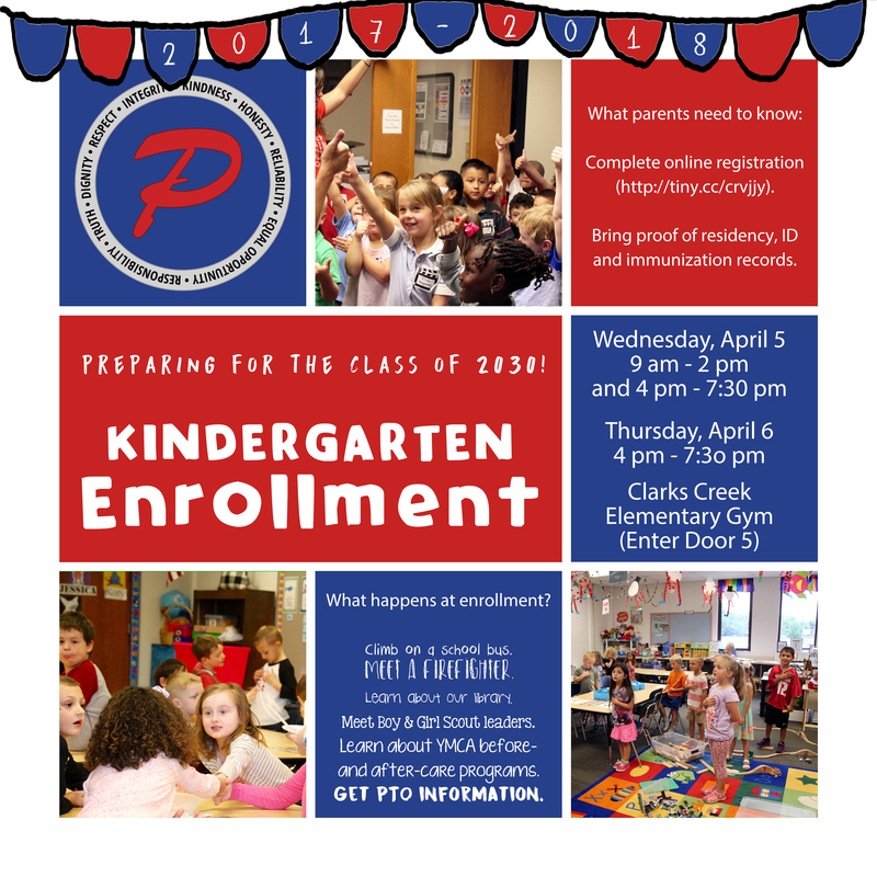 Kindergarten Enrollment is near!